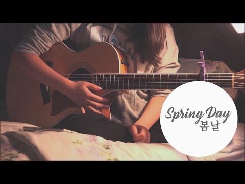 BTS(방탄 소년단)- Spring Day(봄날) Guitar Cover