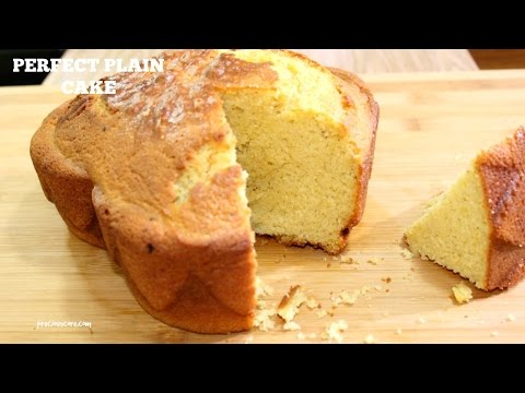 Perfect  Plain Cake - Precious Kitchen - Episode 13