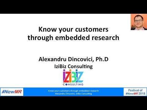 Embedded research-how to maximize consumer interactions