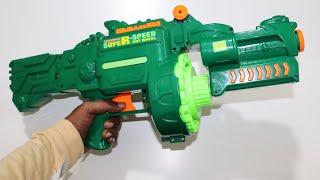 Largest Blaze Storm Automatic Toy gun Unboxing amp Testing Chatpat toy tv