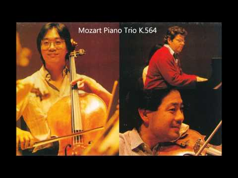 Mozart:Piano Trio K.564(Young Uck Kim,Yo-Yo Ma & Emanuel Ax) Edinburgh International Festival 1983