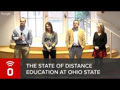 THE STATE OF DISTANCE EDUCATION AT OHIO STATE