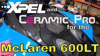 McLaren 600LT Xpel and Ceramic Pro