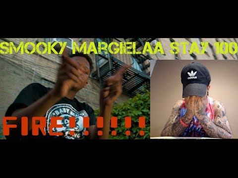"Smooky MarGielaa ""Stay 100"" (OFFICIAL VIDEO) REACTION/REVIEW"