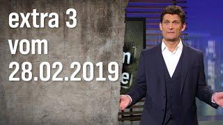 Extra 3 vom 28.02.2019