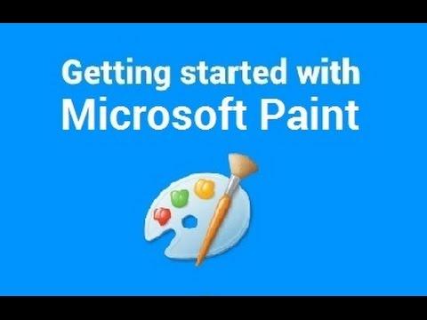 Windows 10 MS (Microsoft) Paint - Beginners Tutorial (How to)