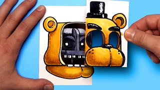 6 COOL FIVE NIGHTS AT FREDDY'S CRAFTS TO PLAY AT HOME