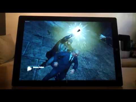 Batman: Arkham City on a Surface Pro 3