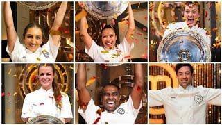 Masterchef Australia Season 1-11 Winners