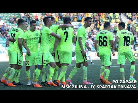 Tlačová konferencia po zápase MŠK Žilina - FC Spartak Trnava