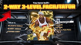 NEW Game Breaking DEMIGOD Build On NBA2K20 *Legend 2-way 3 level Facilitator* AFTER PATCH 12!