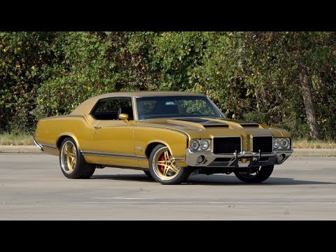 1971 Oldsmobile Cutlass Supreme SX SOLD / 136589