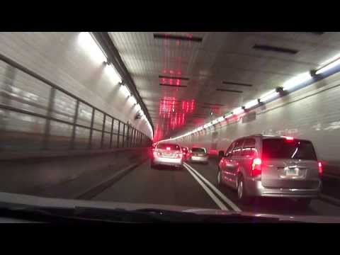 New York City to Jersey city thru the Holland Tunnel