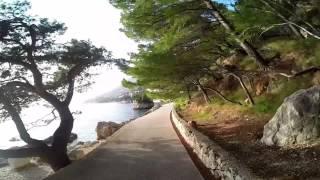 Brela pobřeží - Soline - Jakiruša