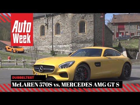 Mercedes-AMG GT S vs McLaren 570S - Dubbeltest
