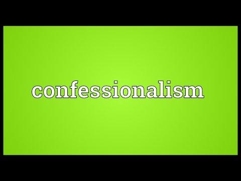 Header of confessionalism
