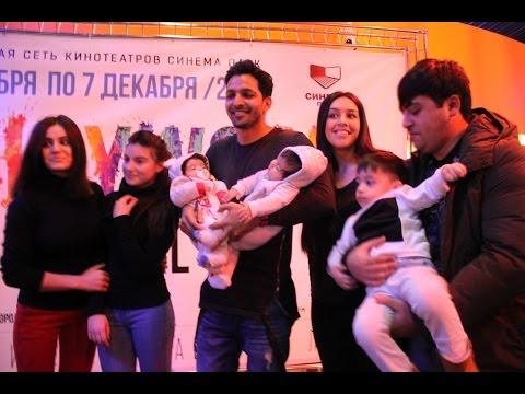 Harshvardhan Rane in St. Petersburg (Russia) on the Bollywood Film Festival