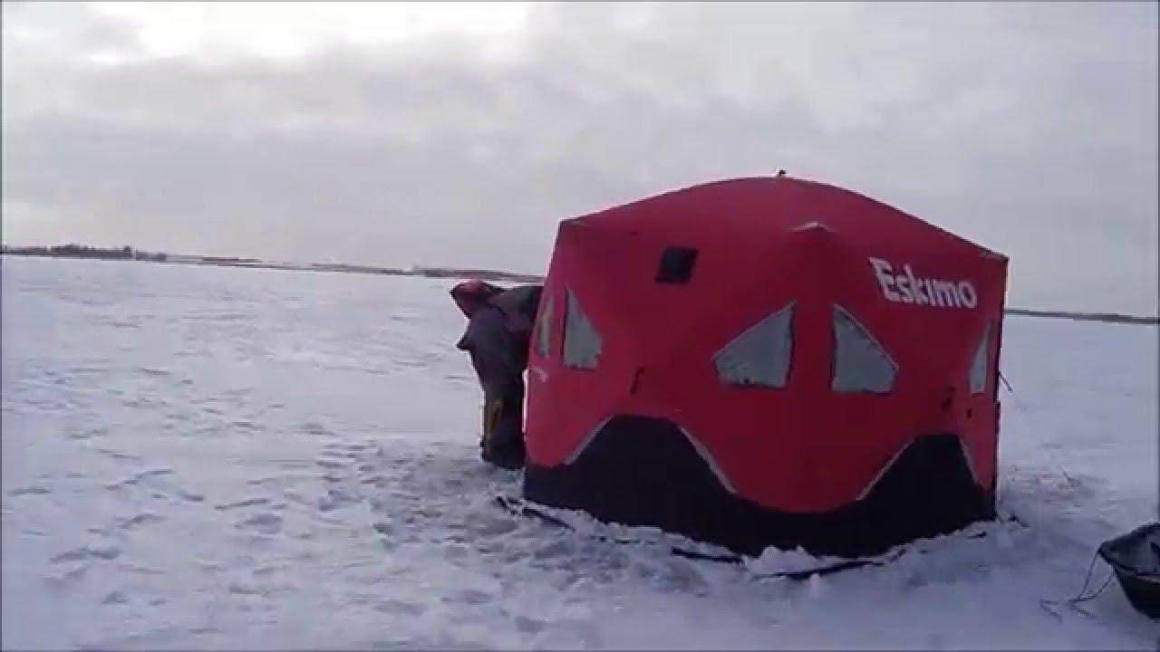 South dakota ice fishing jan 2016 youtube for Ice fishing south dakota
