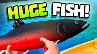 CATCHING THE BIGGEST FISH! - Catch & Release Gameplay - VR HTC Vive Pro