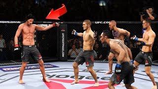 КИАНУ РИВЗ и его САМЫЕ БЕЗБАШЕННЫЕ МОМЕНТЫ в UFC 3/НЕВЕРОЯТНЫЕ НОКАУТЫ ТОП