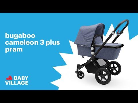 ddb2356d7a3 Bugaboo Cameleon3 Plus Pram | 2018 Stroller Review - YouTube