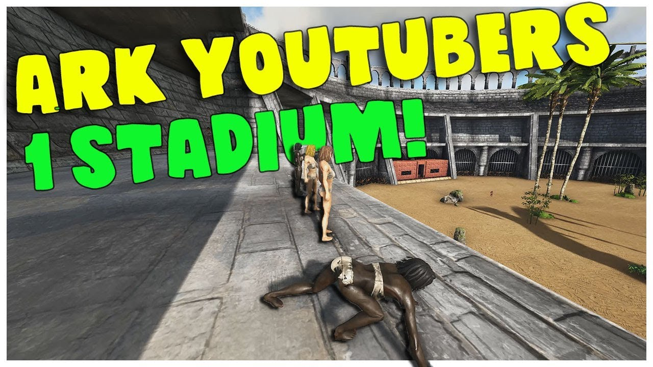When Ark Youtubers Come Together! MTS All-Star PVP Tournament | Ark:  Survival Evolved