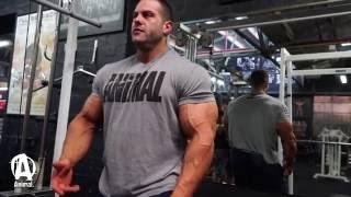 trashing triceps with evan ox centopani