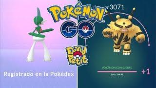 DOBLE REGISTRO CON PIEDRA MÁS SUBIDA AL MÁXIMO DE ELECTIVIRE CON SUERTE! [Pokémon GO-davidpetit]