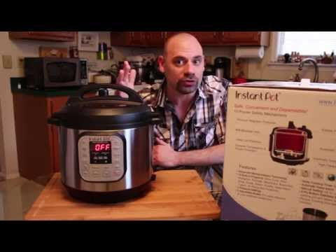 Instant Pot IP-DUO60 / IP-DUO80 8qt 7-in-1 Programmable Pressure Cooker Review - Great Video