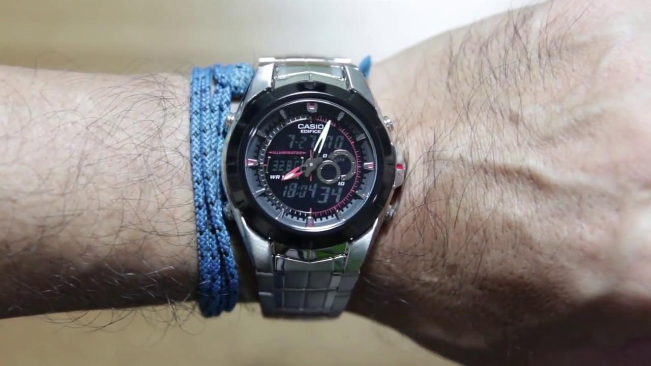 casio edifice efa 119bk 1av youtube rh youtube com Reloj Citizen Relojes Casio Precios