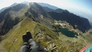 Over The Mountains (Flying Fagaras) [HD]