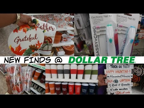 NEW FINDS AT DOLLAR TREE *COME WITH ME!! 8-28-19