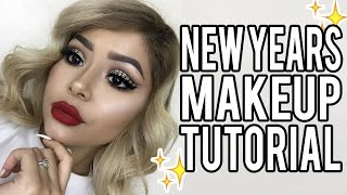 New Years Eve Glam Makeup Tutorial | Daisy Marquez