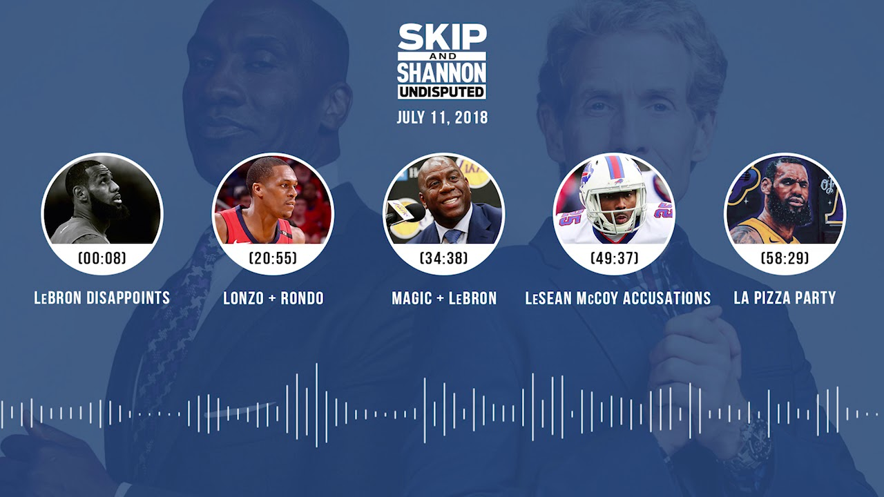UNDISPUTED Audio Podcast (7.11.18) with Skip Bayless and Shannon Sharpe | UNDISPUTED