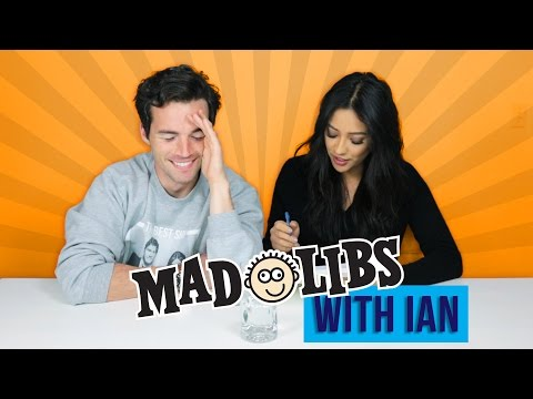 Mad Libs Challenge with Ian Harding  Shay Mitchell