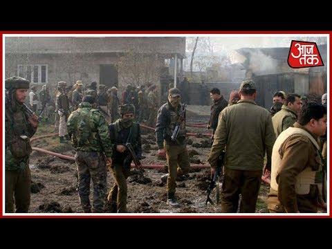 शतक आजतक: श्रीनगर मैं आत्मघाती आतंकी हमला