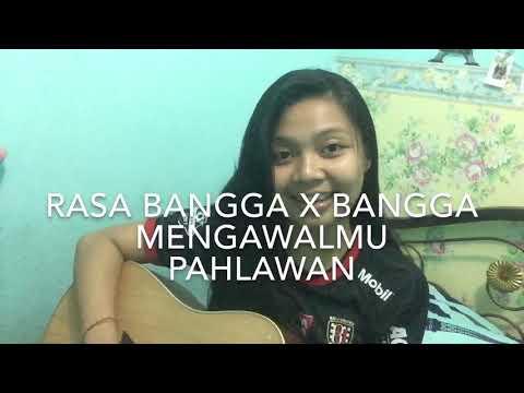 RASA BANGGA || BANGGA MENGAWALMU PAHLAWAN || AYO MAJULAH BALIUNITED Cover Song By Mangtrianti