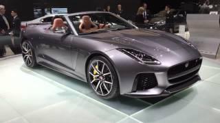 Jaguar F-Type Svr - Video Blog From The Geneva Motor Show
