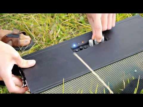 Homemade Bluetooth Speaker (DIY Jawbone Jambox)