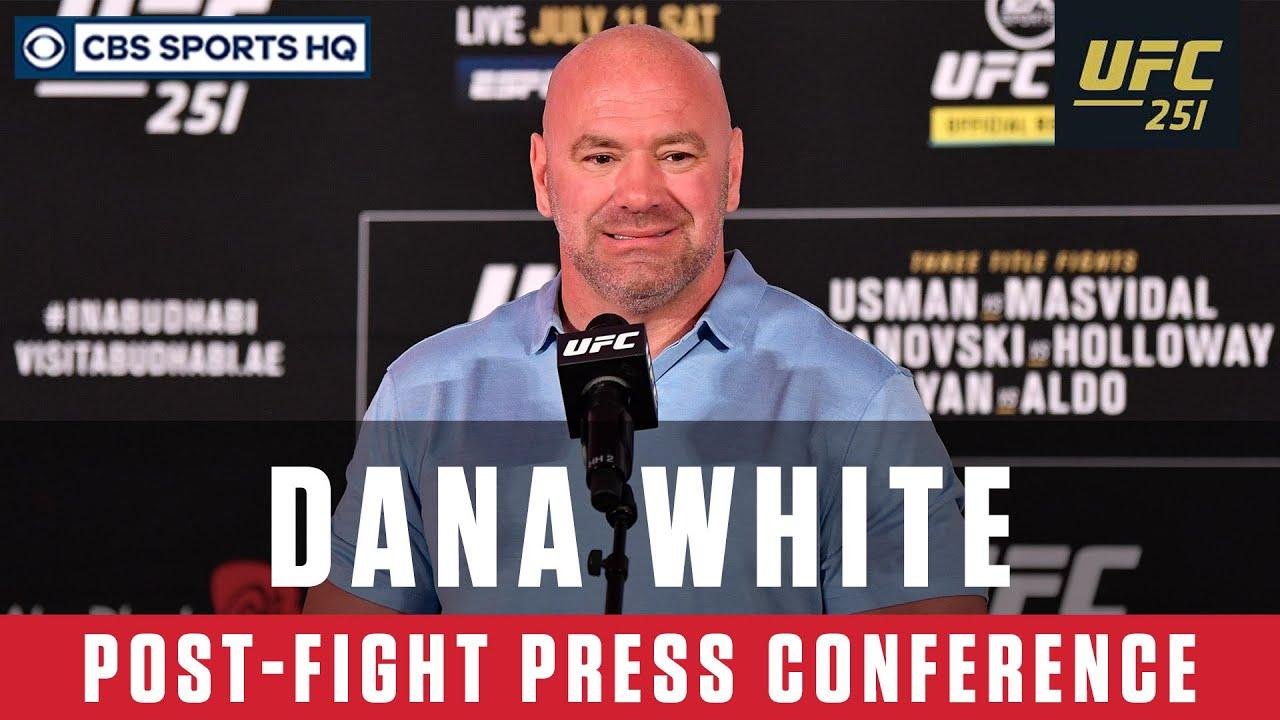 UFC 251: Dana White's Post-Fight Press Conference | CBS Sports HQ