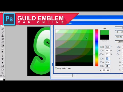 Ran Online Indonesia - How to make a guild emblem Using PhotoShop