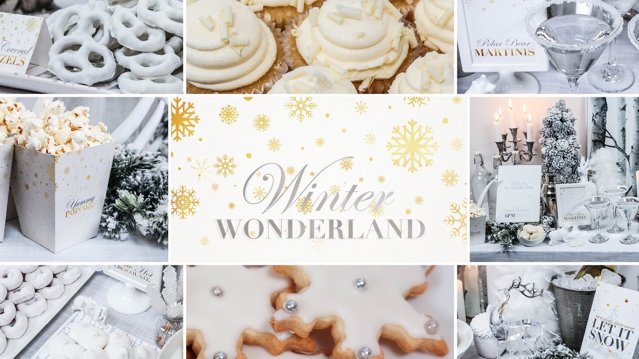 winter wonderland party holiday entertaining ideas youtube. Black Bedroom Furniture Sets. Home Design Ideas