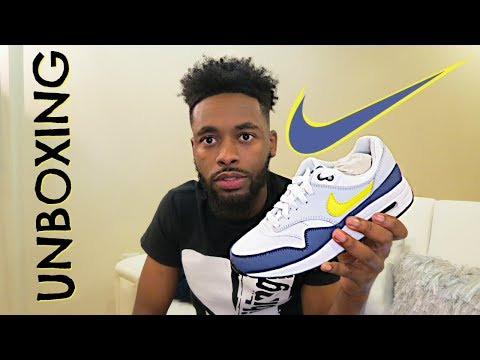 Unboxing Nike Airmax 1 ! How to Lace tutorial