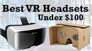 Top 5: VR Headsets Under $100