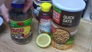 """Anti Aging Natural Homemade Face Mask with Green Tea Oatmeal Honey Lemon for Aging Mature Skin"" Thumbnail"