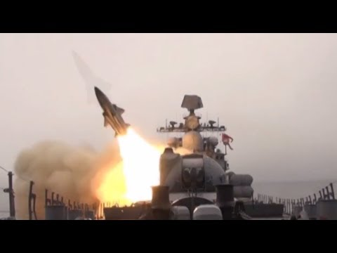 Russia Test-fires Mosquito Anti-ship Missiles In Sea Of Japan