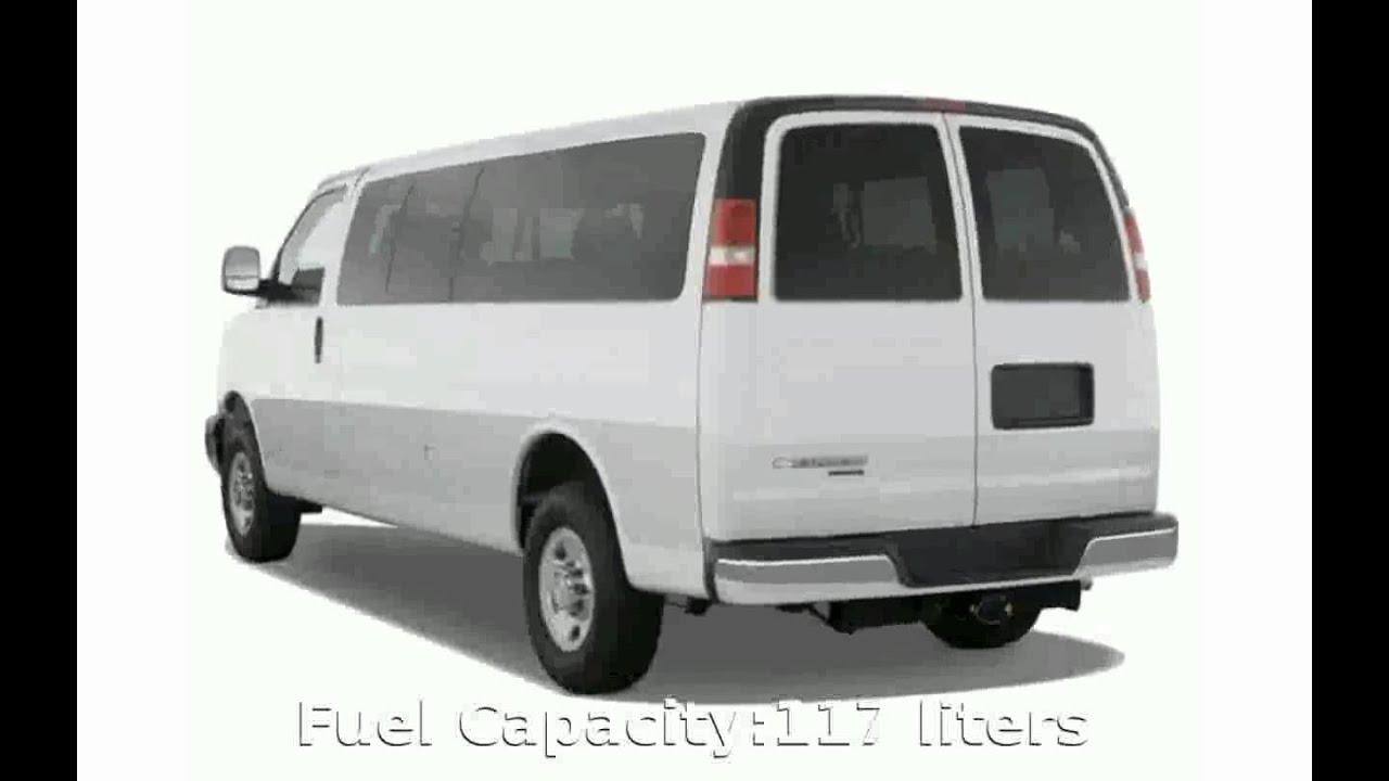 2009 Chevrolet Express Passenger Van LT 1500 Regular Wheelbase AWD ...