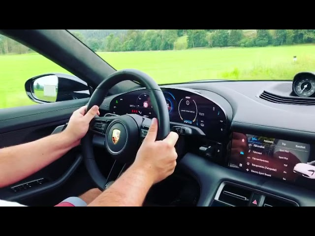 Porsche Taycan Turbo S Acceleration