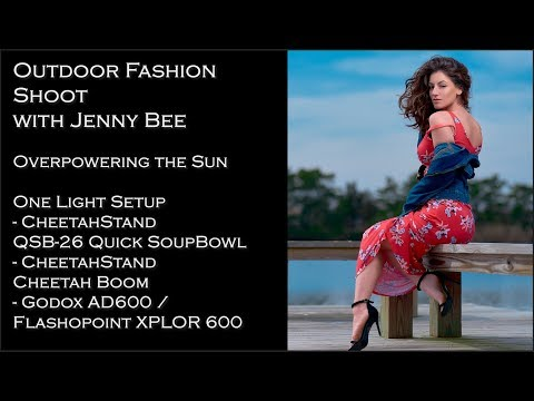 Overpowering the sun with Off Camera Flash & HSS - Fashion Shoot with Jenny Bee