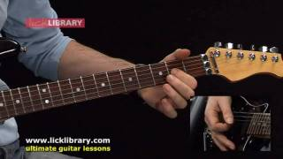AC/DC Rock N Roll Train Guitar Lesson | Michael Casswell Licklibrary
